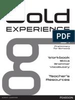 GOLD XP B1 WBK Answers Audioscript 1