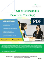 PMS/ T&D /R&S Business HR Training Course in Delhi