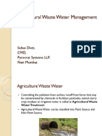 Suhas Dixit - Agricultural Waste Water Management