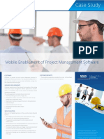 A NOUS Case-study on Mobile Enablement of Project Management Software