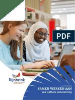 Jaarverslag Rijnbrink 2016