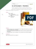 Marmelada Od Krumpira i Djumbira