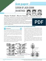 (Paper) Jack Down Construction Method