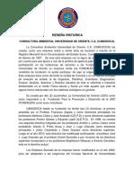 RESEÑA HISTORICA_CAMUDOCA