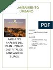 Tarea 1. Analisis del plan urbano del distrito de Surco. Objetivos Ambientales.docx