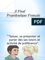 Propédeutique Français 1