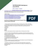 Soal Ujian UT PGSD PDGK4306 Pembelajaran Berwawasan Kemasyarakatan