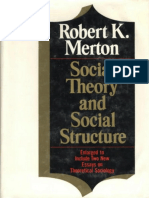 Social Theory and Social Structure - Robert K. Merton