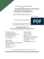 Crystallex v PDVSA - CtApp - Crystallex Brief - 22 Sept 2017