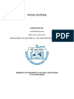 Wind Power Seminar