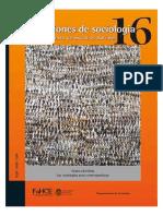 Revista Cuestiones de Sociología Nº 16 Año 2017