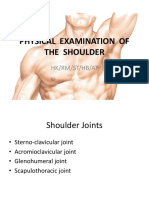 Physical Examination of the Shoulder Final