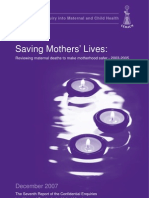 Saving Mothers Lives 2003 2005 Full