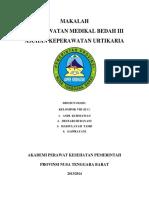 MAKALAH urtikaria KLP. 8.docx