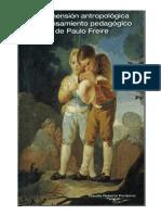 La Dimension Antropologica Del Pensamiento Pedagogico de Paulo Freire
