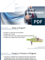 Project Management Upld