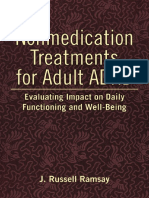 Nonmedication Treatments for ADHD in Adults
