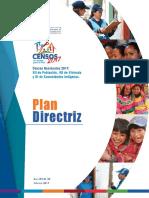 Plandirectriz 2017 INEI CENSO 2017