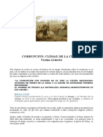 Corrupción, Clímax de La Cizaña, Txema Armesto