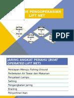 Metode Pengoperasian Lift Net