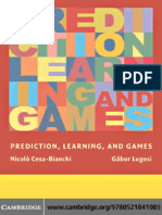 prediction, learning, and games (2006).pdf