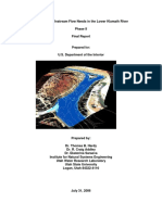 142_evaluation of Instream Flow Needs in the Lower Klamath River Phase II Final Report