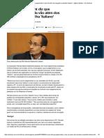 Marcelo Odebrecht Diz Que Pagamentos a Lula Vão Além Dos Lançados Na Planilha 'Italiano' - Agência Estado - UOL Notícias