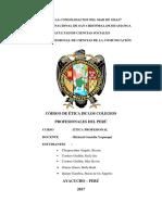 Códigos de Ética en Los Colegios Profesionales - Trabajo Final (1)