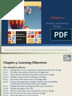 Chap 4 Prod Service Design