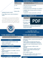 Active Shooter Pocket Card Spanish 508