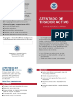 Active Shooter Pamphlet Spanish 508