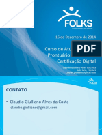 Curso Prontuario Eletronico Cert Digital 16-12-2014