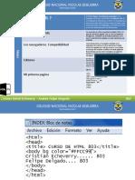 Modelo de HTML