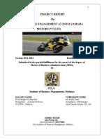 90124207 Final Internship Report on Employee Engagement