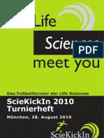 ScieKickIn 2010 Tunierheft