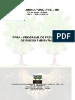Modelo de PPRA -Floricultura