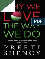 Why We Love the Way We Do - Preeti Shenoy