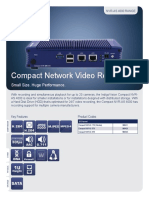 Compact NVR as 4000 Datasheet Letter