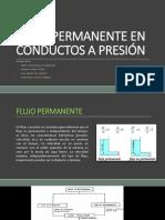 Flujo Permanente en Conductos a Presión