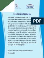 Política Integrada ADESS
