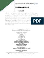 Embajadas y Consulados America y El Caribe