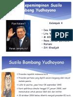 PPT Gaya Kepemimpinan Susilo Bambang Yudhoyono