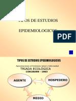 Tipos de Estudios Epidemiologicos 2017 i