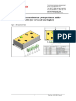 N101931-A_Assembly Instructions for IO Experiment Table