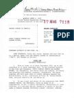 Complaint against Chuck Person