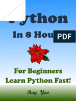 Python Python in 8 Hours%2C Python for Beginners%2C Learn Python Fast