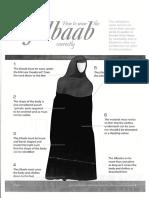 How to Waer the Jilbaab Correctly