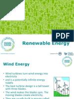Renewable Energy School Presentation