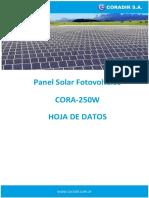 Folleto Panel Solar 250w
