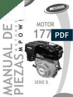 Motor 9 Hp 177f- Mpower